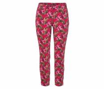 7/8-Jeans 'Dream Chic' mischfarben / himbeer