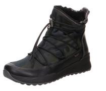 Stiefel mischfarben / schwarz
