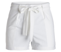 High Waist-Shorts weiß