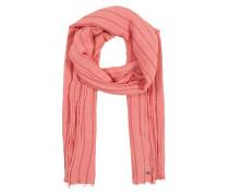 Schal 'Crinkel Strip' rosa