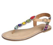 Sandale beige / mischfarben