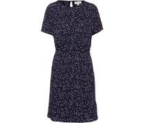 Kleid 'Tadinaa' navy / weiß