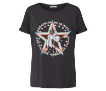 Shirt anthrazit / mischfarben