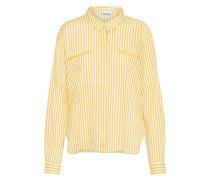 Bluse 'jack' gelb / weiß