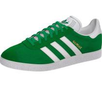 Sneaker 'Gazelle' grün / weiß