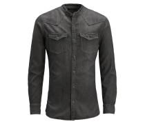 Hemd black denim