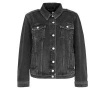 Jeansjacke mit Schnürungen grey denim