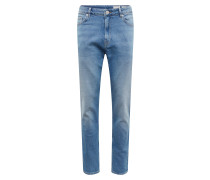 Jeans 'tapered Auth Blu' blue denim