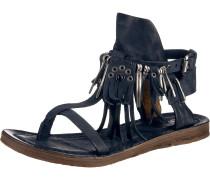 Klassische Sandalen nachtblau