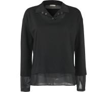 Pullover 2 in 1 schwarz