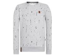 Male Sweatshirt 'Son of a Pimp' grau