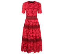 Kleid feuerrot / cranberry