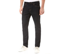 Tapered Jeans 'Solver' dunkelblau