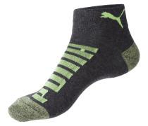 Socken neongrün / schwarz
