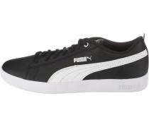 Sneaker gold / weiß / schwarz