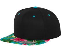 Cap 'Hawaiian' aqua / schwarz
