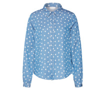 Bluse 'vista DOT Shirt' blue denim