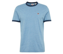 T-Shirt 'SS Bernal Ringer' himmelblau