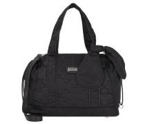 Handtasche 'Lucky Nylon' 34cm schwarz