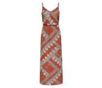 Kleid rostbraun / mischfarben