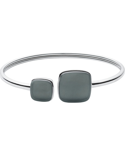 Armspange 'Sea Glass' opal / silber
