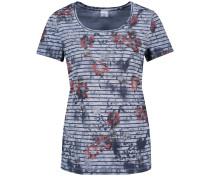 T-Shirt blau / opal