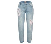 Jeans blue denim / weiß
