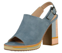 Sandalen blue denim / pastellorange