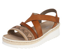 Sandalette braun