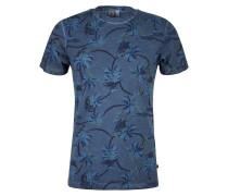 T-Shirt taubenblau / navy / opal