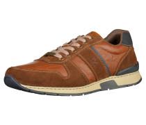 Sneaker beige / braun / bronze / dunkelgrau