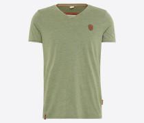 T-Shirt 'Schimpanski' grün
