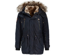 Parka 'unkar Solid With Inner FUR Jacket'