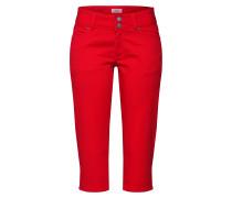 Jeans 'Bermuda' feuerrot