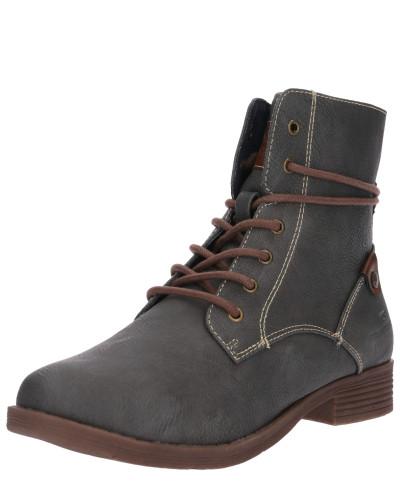 Schnür-Boot basaltgrau