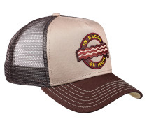 Cap 'Food Bacon' beige / braun