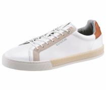 Sneaker 'Plus' beige / weiß