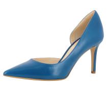 Pumps halboffen 'jessica' blau