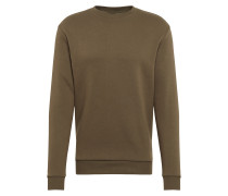 Sweatshirt 'CN Basic Sweat' oliv