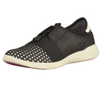 Sneaker schwarz / silber / weiß