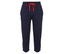 Schlafhose navy / rot