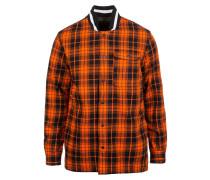 Jacke orange / schwarz