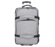 Reisetasche 'Premium' hellgrau / schwarz