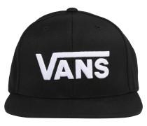 Cap 'drop V II' schwarz / weiß