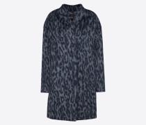 Mantel rauchblau / taubenblau