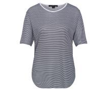Shirt 'Amity' anthrazit / weiß