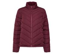 Jacke 'v-Warmest LW Puffer Jacket' weinrot