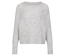 Pullover 'onlHANNA L/S Pullover Knt' weiß