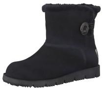 Snowboots 'Button' schwarz