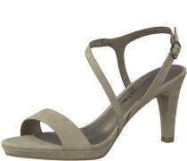 Sandale 'Sandal asymmetrisch' grau